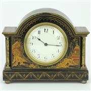 Sale 8372 - Lot 14 - Buren Swiss Chinoiserie Themed Mantle Clock