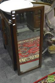 Sale 8368 - Lot 1079 - Timber Framed Mirror