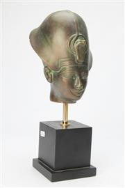 Sale 8667 - Lot 70 - Bust of An Early Pharaoh