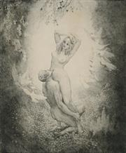 Sale 8907 - Lot 538 - Norman Lindsay (1879 - 1969) - Virtue, 1921 32.5 x 26.5 cm