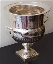 Sale 8310A - Lot 37 - A large EP champagne bucket of classical form. height 40cm width 34cm