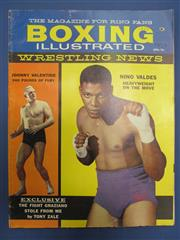 Sale 8419A - Lot 39 - Boxing Illustrated - a box with several complete years (1959-1980) including complete 1968-1970