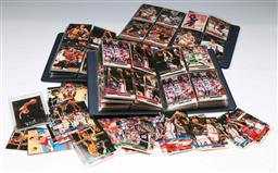 Sale 9153 - Lot 47 - A collection of basketball cards