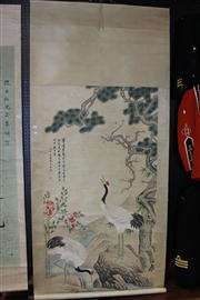 Sale 7968 - Lot 36 - Chinese Painted Scroll by Chen Quan