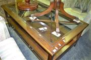 Sale 8093 - Lot 1377 - Glass Top Coffee Table