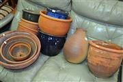 Sale 8115 - Lot 1109 - Collection of Varied Planters