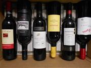 Sale 8519W - Lot 75 - 6x Assorted Red Wines incl. Penfolds, Taylors & Redman
