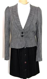 Sale 8196F - Lot 344 - WOOL REVIEW JACKET AND ANNE KLEIN 11 SKIRT TOGETHER WITH CAMILLA AND MARC TOP; Jacket new with label and spare button (14), skirt (4...