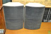 Sale 8275 - Lot 1080 - Pair of White Weltron Speakers