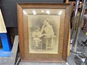 Sale 8429A - Lot 2023 - Vintage Photograph in Oak Frame