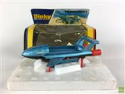 Sale 8559A - Lot 6 - Dinky Thunderbird 2 Die-Cast toy no. 106, boxed, good condition.