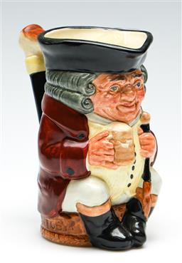 Sale 9255S - Lot 58 - A Royal Doulton Jolly Toby character jug Height 15.5cm