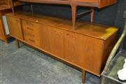 Sale 8013 - Lot 1012 - Superb Danish Teak Sideboard