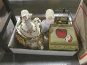 Sale 8098A - Lot 98 - A Capodimonte Lidded Soup Tureen and ladle.