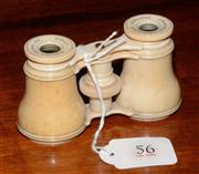 Sale 8127A - Lot 56 - A Pair of 19th Century Charles Chevalier Ivory Opera Glasses ,