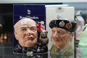 Sale 8360 - Lot 6 - Royal Doulton Winston Churchill & Monty Character Mugs In Boxes