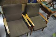 Sale 8386 - Lot 1081 - Pair of Retro Armchairs