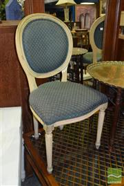 Sale 8515 - Lot 1033 - Pair of Medallion Backed Dining Chairs