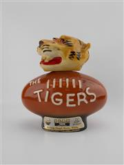 Sale 8571 - Lot 920 - 1x James B Beam 100 Month Beam Kentucky Straight Bourbon Whiskey - in novelty decanter bottle for The Tigers