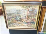 Sale 8640 - Lot 2033 - Maria Parkes Quiet Bushland, Linden Blue Mountains, oil on board, 49 x 60cm, signed lower right