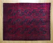 Sale 8372C - Lot 72 - An Antique Afghan Turkman, 270 x 200cm