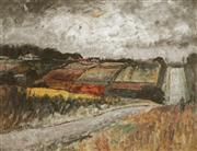 Sale 8858 - Lot 564 - George Feather Lawrence (1901 - 1981) - Market Garden, North Ryde 42.5 x 56 cm