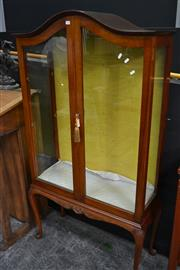 Sale 8066 - Lot 1010 - Elevated Display Cabinet