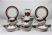 Sale 8448 - Lot 5 - Arabia Ceramic Set for 6 Persons