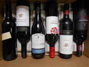 Sale 8519W - Lot 77 - 6x Assorted Red Wines incl. Taylors, Rosemount Estate & Tyrrells