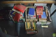 Sale 8407T - Lot 2470 - 4 Boxes of Various Books inc Childrens