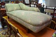 Sale 8566 - Lot 1554 - Vintage Upholstered Chaise