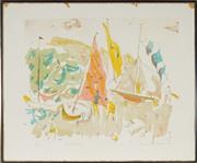 Sale 8938 - Lot 599 - Mary McQueen (1912 - 1994) - Westerly, 1973 57 x 70 cm