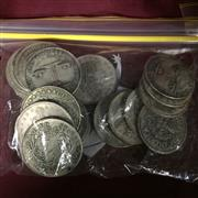 Sale 8659 - Lot 2418 - Collection of White Metal USA Tokens