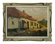 Sale 8828A - Lot 19 - Philippe Yacoby  Belgium circa 1920s oil on board signed. 30 x 40 cm