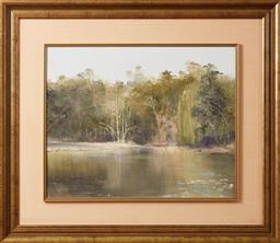 Sale 9098H - Lot 13 - Greg Jarmaine - Deadwood, Turon River Signed and dated 85 Lower left