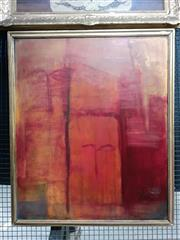 Sale 9069 - Lot 2036 - P. Lewarne LÉnigma, oil on board, frame: 99 x 83 cm, signed lower right -