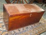 Sale 7919A - Lot 1728 - Cedar Trunk Fitted with 2 Removable Trays