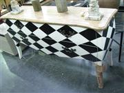 Sale 7922A - Lot 1160 - Sideboard with Diamond Motif (160cm)