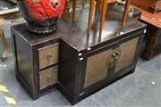 Sale 8054 - Lot 1048 - Oriental Style Timber Cabinet