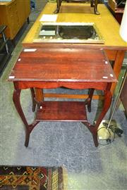 Sale 8124 - Lot 1044 - Tiered Side Table