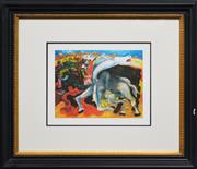 Sale 8191A - Lot 66 - After. Pablo Picasso (1881 - 1973) - Spanish Bull Fight 25 x 32.5cm