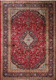 Sale 8323C - Lot 1 - Persian Kashan 403cm x 277cm RRP $5000