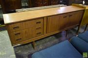 Sale 8476 - Lot 1026 - 1960s Teak Sideboard