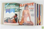 Sale 8568 - Lot 19 - Australian Playboy Collection in Album 1980