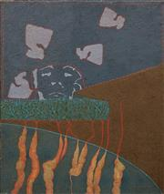 Sale 8633 - Lot 507 - Rod Withers (1946 - 1988) - Untitled 1968 91 x 76cm