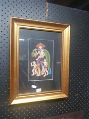 Sale 8833 - Lot 2080 - Artist Unknown - Balinese Watercolour