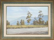 Sale 8955A - Lot 5073 - Gary Laird (1955 - ) - On the Road to Kangaroo Valley 49 x 74 cm (frame: 70 x 96 x 6 cm)