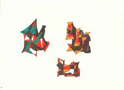 Sale 8991A - Lot 5050 - Lyndon Dadswell (1908-1986) (10 works) - Sketches no. 661 - 670, c1970s various sizes
