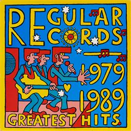 Sale 9157S - Lot 5031 - MARTIN SHARP (1942 - 2013) Regular Records 1979 - 1989 Greatest Hits vinyl cover and (1) LP record L30237 . .