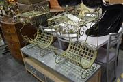 Sale 7981A - Lot 1059 - Pair of Metal Newspaper Stands